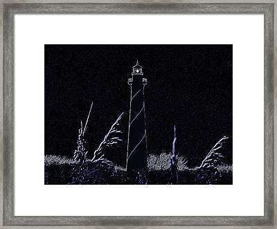 Night Light - Digital Art Framed Print by Al Powell Photography USA