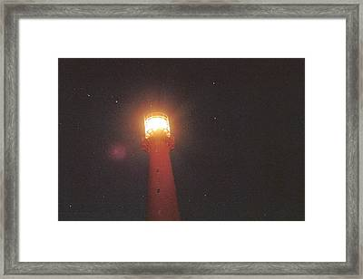 Night Light Framed Print by Gregory Barger
