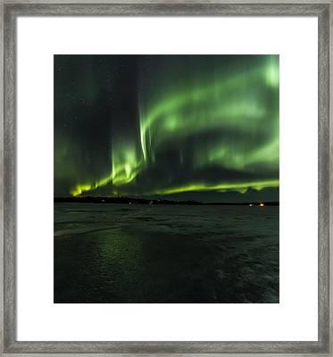 Night Light Framed Print by Kyle Lavey