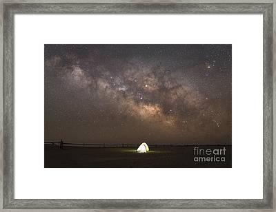 Night Light  Framed Print by Michael Ver Sprill