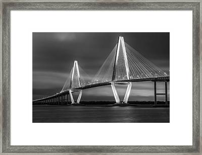 Night Light Framed Print by Mike Lang