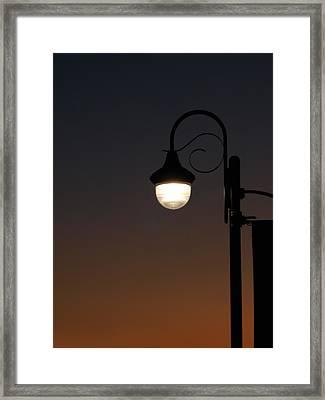 Night Light Framed Print by Stan Wojtaszek