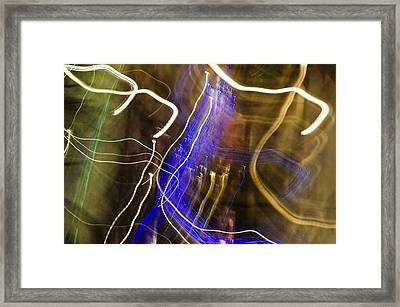 Night Lights 2 Framed Print by Layne Hardcastle