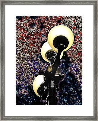 Night Lights 3 Framed Print by Tim Allen