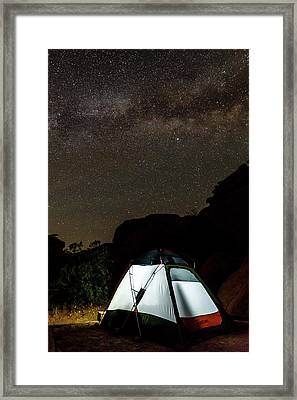 Night Lights Framed Print by James Marvin Phelps