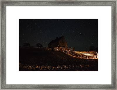 Night Magic  Framed Print