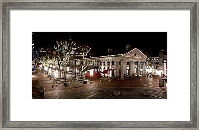 Night Market Framed Print by Greg Fortier