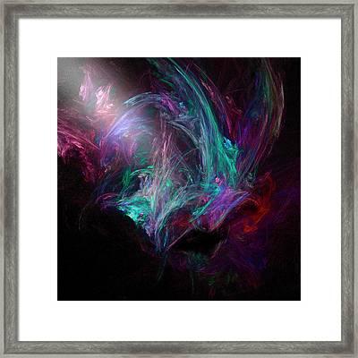 Night Framed Print by Michael Durst
