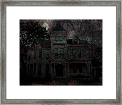 Night Framed Print by Mimulux patricia no No