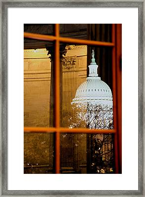 Night Framed Print by Mitch Cat
