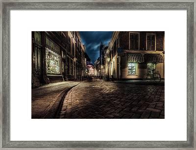 Night Moods - Leiden Framed Print