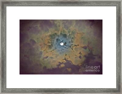 Night Moon Framed Print