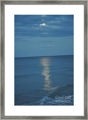 Night Moves -6 Framed Print