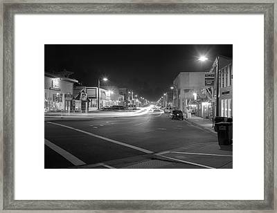 Night Moves Framed Print by HW Kateley