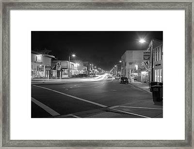 Night Moves Framed Print by HW Kateley