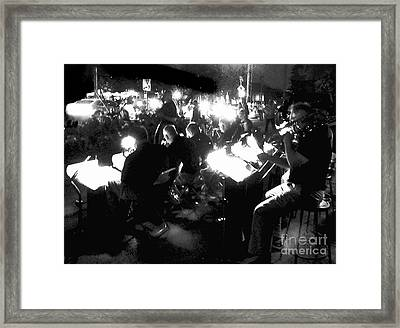 Night Music Framed Print by Felipe Adan Lerma