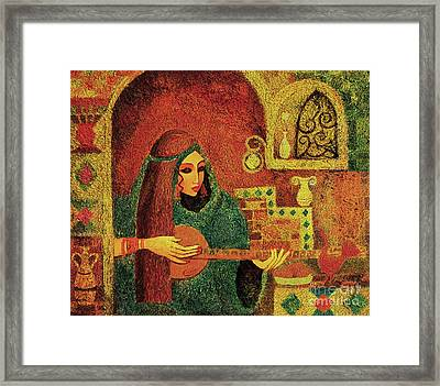 Night Music 3 Framed Print