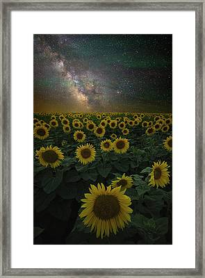 Night Of A Billion Suns Framed Print