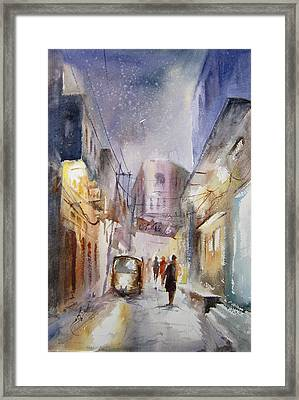 Night Of Lahore Framed Print by MKazmi Syed