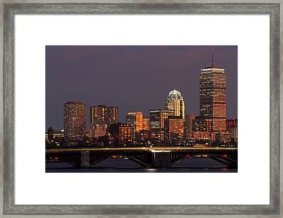 Night Of Light Framed Print by Juergen Roth