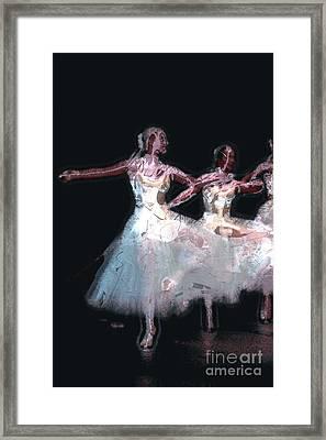 Night Of The Ballet Framed Print