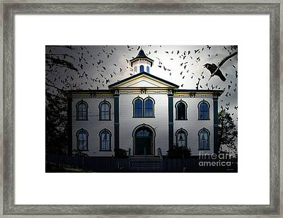 Night Of The Birds . 7d12487 Framed Print by Wingsdomain Art and Photography