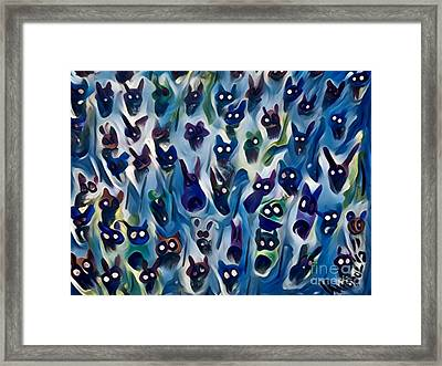 Night Of The Creepers Framed Print