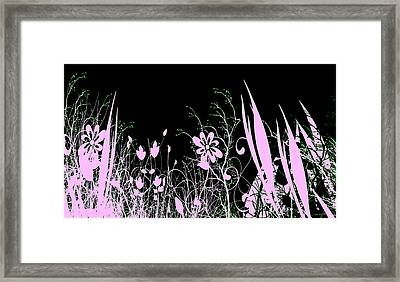 Night Of The Flowers Framed Print by Evelyn Patrick