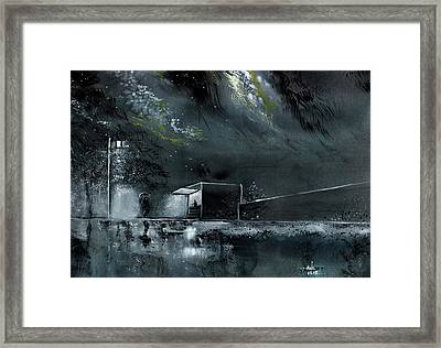 Night Out Framed Print by Anil Nene