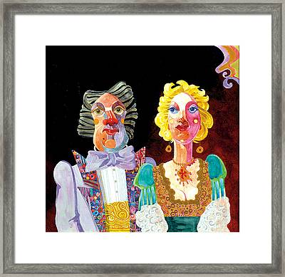 Night Out Framed Print by Bob Coonts