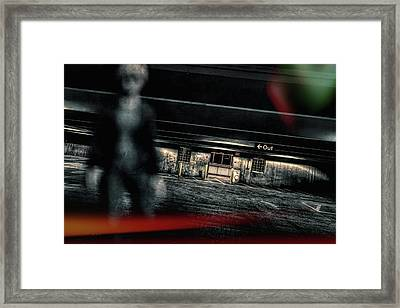 Night Out Framed Print by Bob Orsillo