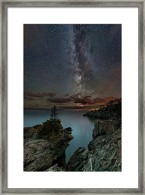 Night Over Quoddy Channel Framed Print