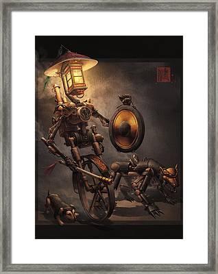Night Patrol Framed Print by James Ng
