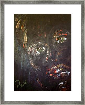 Night Framed Print by Penny Faulhammer