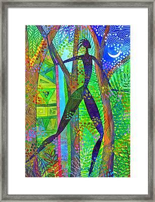 Night Quest Framed Print by Jennifer Baird