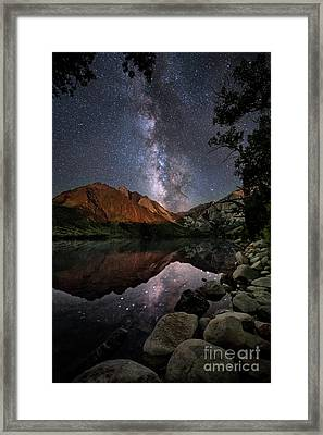 Night Reflections Framed Print by Melany Sarafis