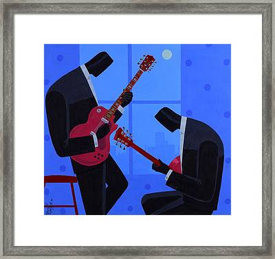 Night Rhythms Framed Print