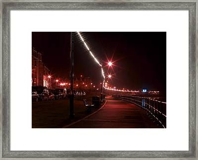 Night Road Framed Print by Svetlana Sewell