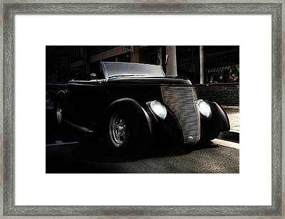 Night Rod Framed Print by Peter Chilelli