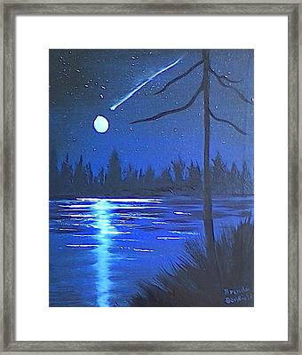 Night Scene Framed Print