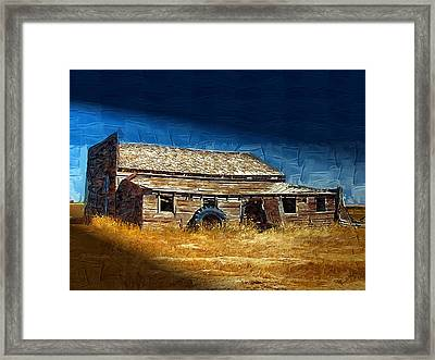 Framed Print featuring the photograph Night Shift by Susan Kinney