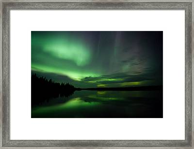 Framed Print featuring the photograph Night Show by Yvette Van Teeffelen