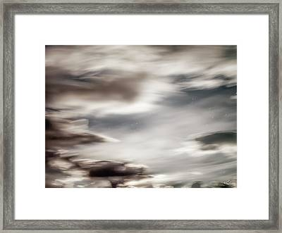 Night Sky 3 Framed Print by Leland D Howard