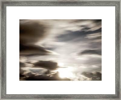 Night Sky 4 Framed Print by Leland D Howard