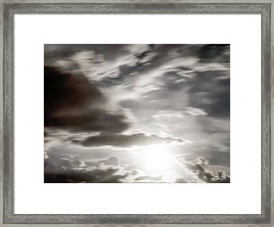 Night Sky 5 Framed Print by Leland D Howard
