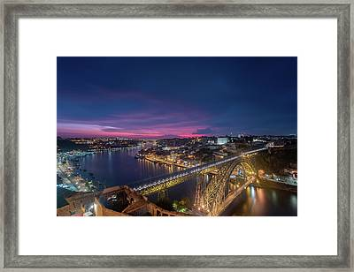 Framed Print featuring the photograph Night Sky by Bruno Rosa