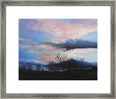 Night Sky Framed Print by M Diane Bonaparte