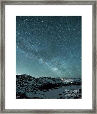 Rocky Mountain Magic Framed Print