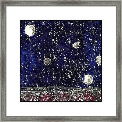 Night Sky View Framed Print
