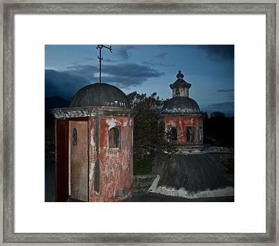 Night Skyline 1 Framed Print by Douglas Barnett
